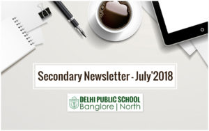 Cambridge Secondary Newsletter - July 2018