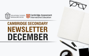 Cambridge Secondary Newsletter December 2018