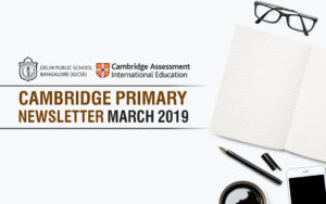 Cambridge Primary Newsletter - March 2019