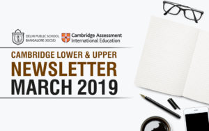 Cambridge Secondary Newsletter - March 2019