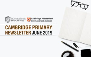Cambridge Primary  Newsletter - June 2019