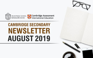 Cambridge Secondary Newsletter - August 2019