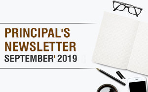 DPSBN Principal's newsletter for September month 2019