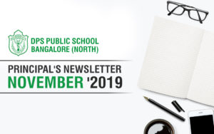 Principals Newsletter - November '2019