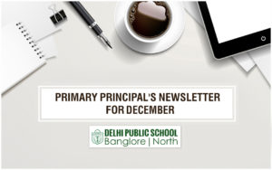 Primary Principal's Newsletter - December