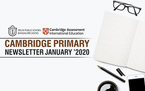 Cambridge Primary  Newsletters - January 2020