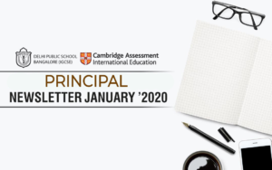 PRINCIPAL'S NEWSLETTER JANUARY 2020