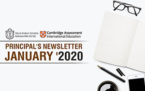 Senior Principal's Newsletter January 2020